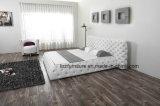 Base molle di svago della mobilia di Chesterfield del cuoio nordico della camera da letto