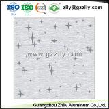 Het Fortuin van de Textuur van het metaal komt Berijpt Plafond met Bloeiende Bloemen