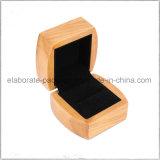 Оптовая роскошная коробка ювелирных изделий Китая Handmade изготовленный на заказ деревянная для кольца, ожерелья, вахты