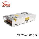 300W 5V 25A/12V 15une sortie double alimentation à découpage SMPS