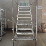 Escaleras de acero galvanizadas de la INMERSIÓN caliente del andamio/del andamio