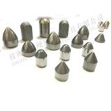 Botones sinterizados de la explotación minera del carburo, extremidades del botón del carburo de tungsteno