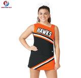 Девушка школы подгоняла взрослого платья Cheerleading сублимации краски чирлидера печатание равномерного сексуального