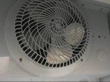 800L Porta de vidro duplo de resfriamento por ventilador frigorífico para refrigerantes