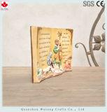 Decorazione religiosa del Figurine della resina di disegno religioso del libro