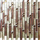 Pavimento e parete di prezzi delle mattonelle di mosaico di cristallo di rettangolo