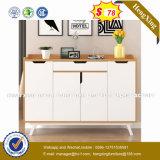 Het hete Verkopende Goedkope Eenvoudige Kabinet van de Garderobe van de Slaapkamer van het Ontwerp (hx-8NR0985)