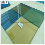 6 mm de verre teinté de verre de couleur// pour la construction de verre réfléchissant
