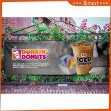 Наружная реклама УФ-чернила для печатибольших пользовательского размера баннера