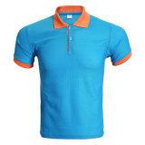 Fabricant plaine moins cher en polyester personnalisé Men's Pique Polo Shirt