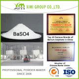 96%+ sulfate de baryum de nature de la pureté Baso4 pour le Special en verre