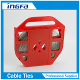150 kg de acero inoxidable de alta resistencia Correa de bandas para el Paquete de Cables