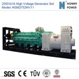 Hochspannungsset des generator-2750kVA 10-11kv mit Googol Motor 50Hz