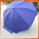 Usine prix bon marché portable fait sur mesure de promotion de pelouse Parasol