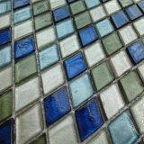 Rhombus mosaico Mosaico de vidrio para Hotel Decoartion