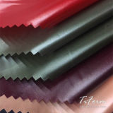 Tejido de tafetán de nylon 400t para prendas impermeables tejido antiestático