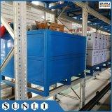 Novo Q235B 1.2MX1m 750kg de paletes de paletes de caixa de aço para serviço pesado