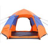 Tente solaire orange campante extérieure bon marché imperméable à l'eau de qualité