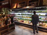 Supermarkt Wind-Kühlvorrichtungen Kühlraum, Luftkühlung-Bildschirmanzeige-Kühler