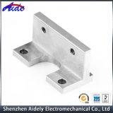 Fait en usine de pièces d'usinage CNC en aluminium de précision pour l'aérospatiale