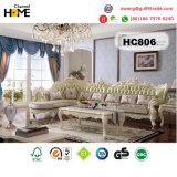 Европейский классицистический комплект спальни твердой древесины мебели (HC9011)