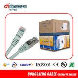 Cat5e Cable parche exterior Chaqueta PE