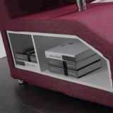거실 Fb8036b를 위한 현대 디자인 단단한 나무 프레임 침대