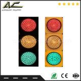 Luz de sinal do tráfego da esfera redonda da cor da lente do preço três de Resonable da segurança