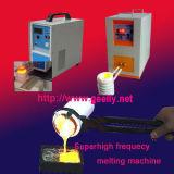 機械誘導の溶ける炉か高周波溶ける機械溶けるプラチナ金の銀の銅等を溶かす金属