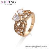 11493 Xuping моды элегантный 18K Gold - позолоченные разъемы женщин кольцо с циркон