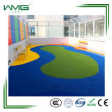 Het kunstmatige Gras van de Speelplaats van het Gras voor OpenluchtGebieden