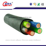 Отсутствие короткого замыкания XLPE бронированных медного кабеля питания