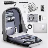 protezione del sacchetto del computer portatile del sacchetto di banco di modo 2017new contro lo zaino Yf-Pb1831 di furto