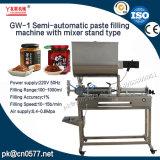 A GW-1 máquina de enchimento com suporte de mistura de molho de pimenta