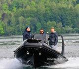 Liya 6.6m Rippen-Boots-aufblasbare Boots-Fiberglas-Rettungsboote