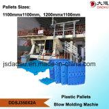 Automatische Blasformen-Maschine für doppelte Plattform-Ladeplatten