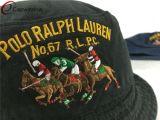 100% хлопок вымыт Red Hat ковша/винты с плоской вышивка