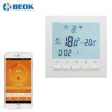 Wall Hung Wi-Fi Boiler Room Thermostats with LCD Screen for Floor Heating