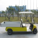 2人の電気小型車