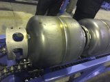 Machine de soudure tangentielle de cylindre automatique de LPG