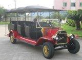 믿을 수 있는 명망 4 바퀴 11 Seater 휴양지 호텔 전기 거품 차