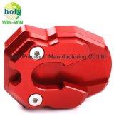 Precisie CNC die de Delen van het Metaal van het Pedaal van de Motorfiets met de Diensten van de Douane machinaal bewerkt