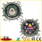 カスタマイズされたデザインのOEMの金属の挑戦硬貨