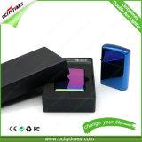 Лихтер дуги USB миниой черноты перезаряжаемые двойной с коробкой подарка