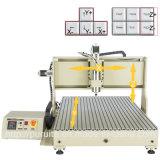 PVC CNCのルーター機械を切り分けるアクリルの切断の彫版