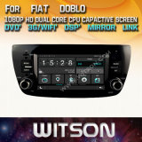 フィアットDobloのためのWitson Windowsのタッチ画面車DVD