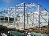 El bastidor de acero estructural de la luz de la construcción Almacén