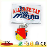 Costumes todos emblema americano do metal