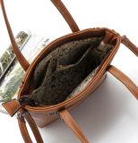 Tote повелительницы Сумки Женщины Tote PU Хозяйственной сумки сбор винограда причинный (WDL0974)