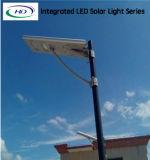 luz de rua 60W solar completa